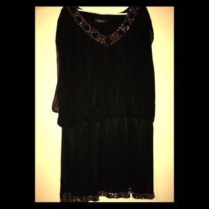 Stunning Black Beaded Dress
